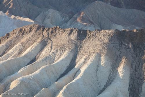 Lava Bed, Zabriskie Point, Death Valley National Park