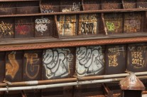Graffiti on Bridge Girders