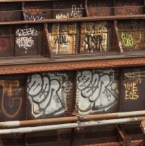 Graffiti on Bridge Girders