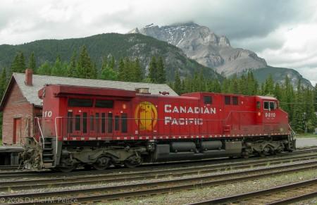 Canadian Pacific Diesel Locomotive