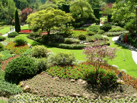 Butchart Gardens, Vancouver Island, BC