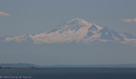 Mt Baker, Olympic Range, Hovering Over Vancouver Island, BC