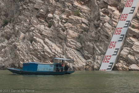 Yangtze River Depth Gauge