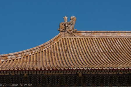 Tile Roof, Forbidden City