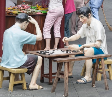 Board Game in Shanghai