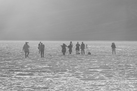 Photographers at Badwater
