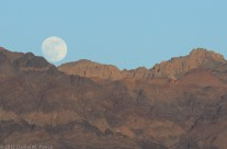 Moonrise from Zabriskie Point