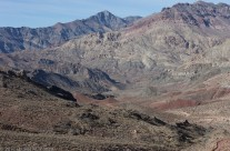 Approach to Titus Canyon