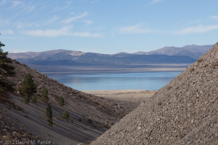 Mono Lake from the Approach to Panum Crater