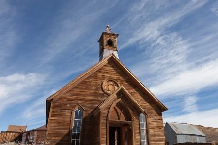 Methodist Church, Bodie State Historic Site
