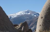 Mountain Peak Viewed from Rattlesnake Gulch