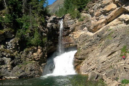 Glacier NP Waterfall