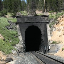 West Portal of Mullan Tunnel, Blossburg, Montana