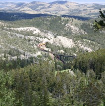 Train Derailment East of Mullan Tunnel