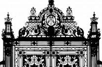 Gate to Holyrood Palace, Edinburgh, Scotland