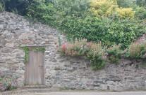 Entrance to a secret garden, Beaumaris, North Wales