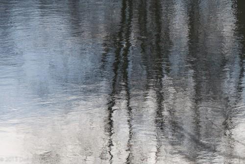 Reflections on Potomac near Billy Goat Trail
