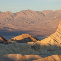 Sunrise over the Valley at Zabriskie Point