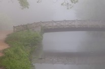 Angler's Bridge in Fog