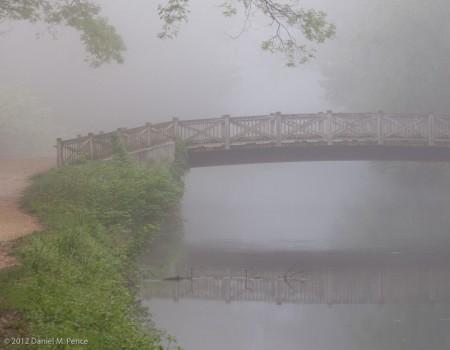 Angler's Bridge in Fog