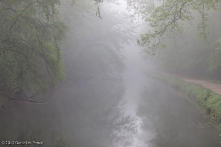 C&O Canal in Fog