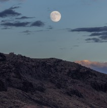 Full Moon Over Zion NP