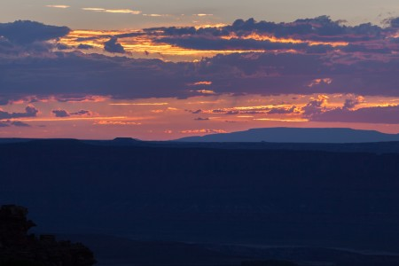 Sunset at Green River Overlook