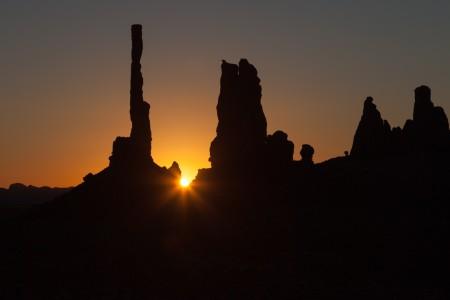 Totem Pole Sunrise, Monument Valley NTP