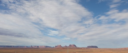 Heading South Past Monument Valley