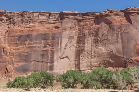 Sheer Canyon Wall