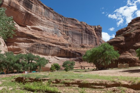 Homesite of Our Navajo Guide